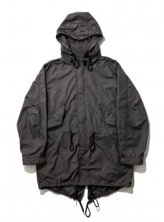 PACKABLE FISHTAIL PARKA(BLACK) -BAL- 16S/S