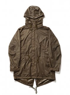 PACKABLE FISHTAIL PARKA(KHAKI) -BAL- 16S/S