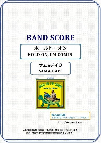 サム&デイヴ ( SAM & DAVE )  / ホールド・オン  (HOLD ON, I'M COMIN')   バンド・スコア(TAB譜) …