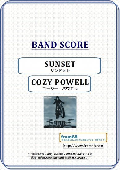 gary moore sunset pdf