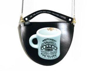 half moon bag【Coffee Cup】