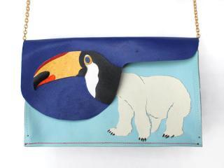 montage bag【オオハシロクマ】