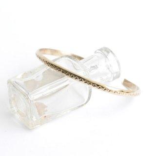 【NAVAJO Jewelry】ナバホジュエリー 1/20 12k G.Fスーパーナロー.バングル 3