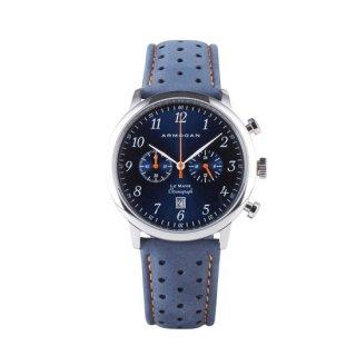 【ARMOGAN】アーモーガン LE MANS – BLUE SAPPHIRE C41 クロノグラフ 時計