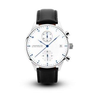 【ABOUT VINTAGE】アバウトヴィンテージ 1815 CHRONOGRAPH クロノグラフ時計 ブラックレザー