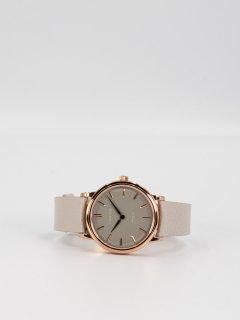 【CORNICHE】コーニッシュ The Heritage 36ローズゴールドケース トープダイアルトープグレーレザー 時計