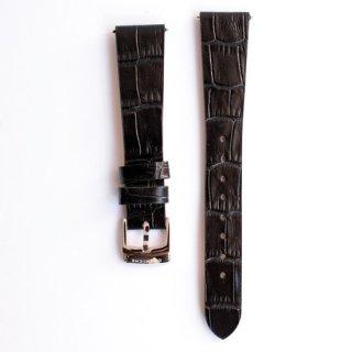 【CORNICHE】コーニッシュ レザーストラップ  HISTORIQUE イストワール  ブラック  18mm