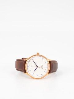 【ABOUT VINTAGE】アバウトヴィンテージ 1969 Vintage 時計 ローズゴールド ダークブラウンストラップ