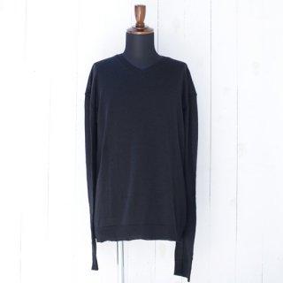 【PRIVATE 0204】プライベート0204 Vネックセーター ブラック