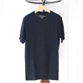 【Wool&Prince】ウール&プリンス メリノウール100%クルーネックTシャツ BK