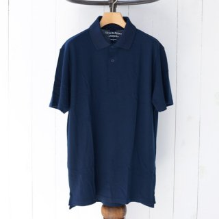 【Wool&Prince】ウール&プリンス メリノウール100%ポロシャツ ネイビー