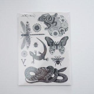 【Yuta Okuda】 ユウタオクダ タトゥーステッカー シール 2