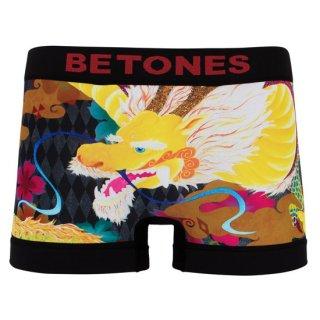 【BETONES】ビトーンズ×Fujiyoshi Brother's イエロー  ボクサーパンツ【メンズ】