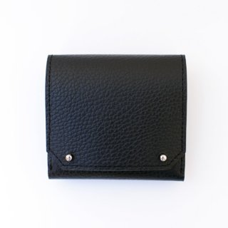 【MASAMI TANAKA】マサミタナカ FORGUE  ビルホールドウォレット ブラック 二つ折り財布