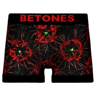 【BETONES】ビトーンズ SADE レッド ボクサーパンツ【メンズ】CAPCOM 「囚われのパルマ Refrain」×BETONES