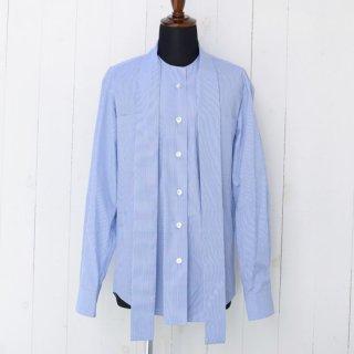 【 SHARON WAUCHOB】 シャロンワコブ スカーフタイシャツ ブルーストライプ
