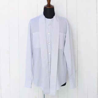 【 SHARON WAUCHOB】 シャロンワコブ スカーフタイシャツ ホワイトストライプ