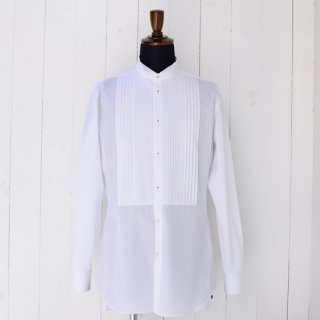 【scylt】シルト ウィングカラー×プリーツ ドレスシャツ