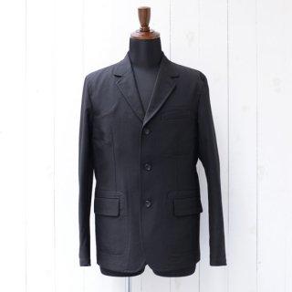 【GILBOA】ギルボア バックステッチテーラードジャケット ブラック