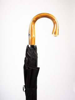 【Pasotti】パソッティ  BLACK MINIGALLES UMBRELLA 傘