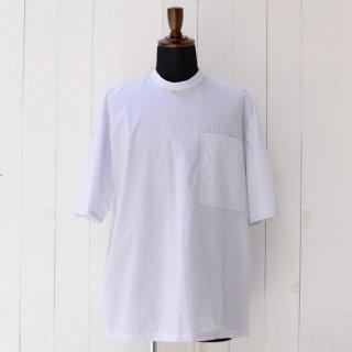 【 SHARON WAUCHOB】 シャロンワコブ スタンドカラー半袖シャツ ストライプ