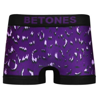 【BETONES】ビトーンズ  LEOPARD 3 パープル ボクサーパンツ【メンズ】