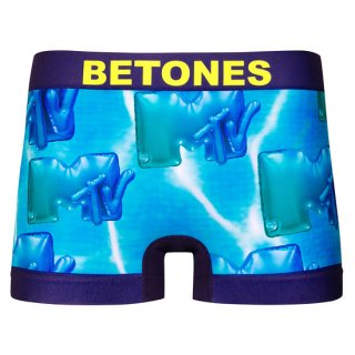 【BETONES】ビトーンズ×MTV  ボクサーパンツ 第2弾 ブルー【メンズ】