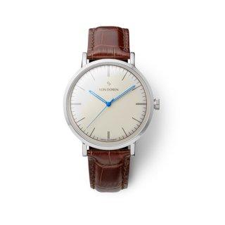 【VON DOREN】ヴァンドーレン Aksla Mark II Antique White シルバー 時計