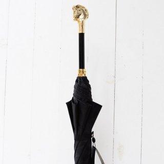 【Pasotti】パソッティ 傘 ゴールデンホースアンブレラ ブラックカモフラージュクロス