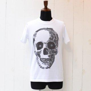 【YUTA OKUDA】ユウタオクダ プリントTシャツ カットソー スカル