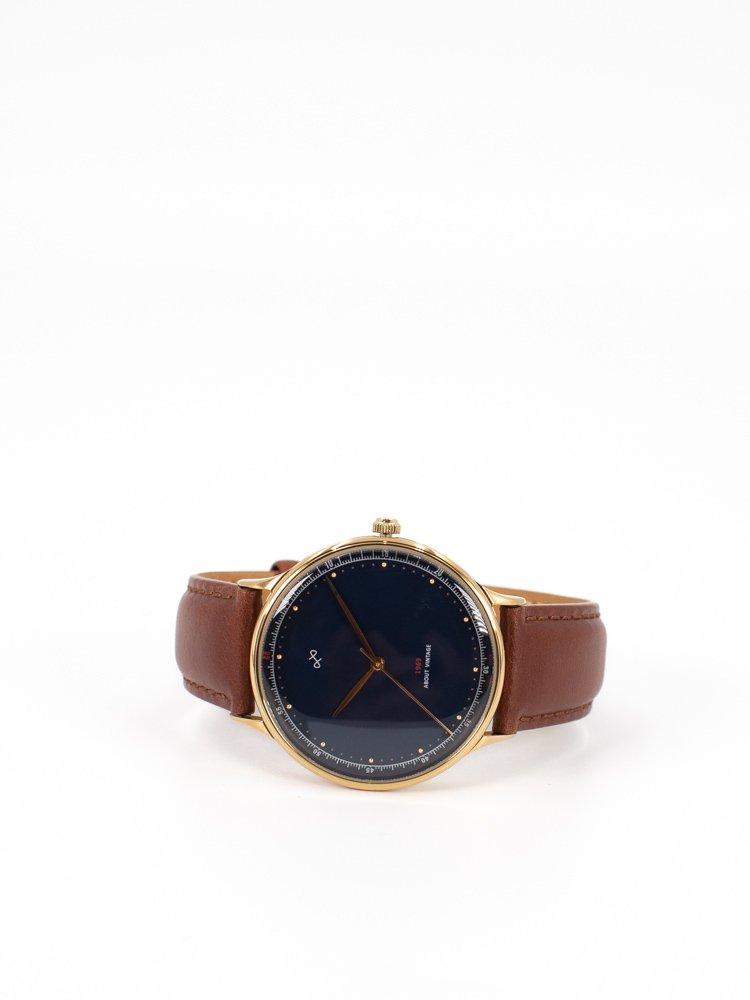 quality design 91df7 f562e 【ABOUT VINTAGE】アバウトヴィンテージ 1969 Vintage 時計 ゴールドケースミッドナイトブルー