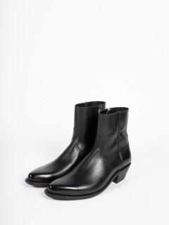 【The Letters】ザ・レターズ ウエスタンドレスサイドジップブーツ  ブラック