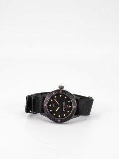 【ABOUT VINTAGE】アバウトヴィンテージ 1926 At'sea All Black Vintage ナトーストラップ  時計