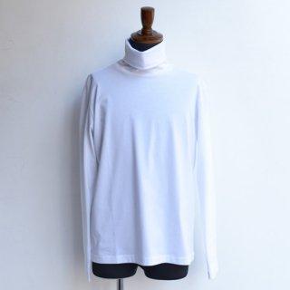 【KAZUKI NAGAYAMA】カズキナガヤマ タートルネックTシャツ ホワイト