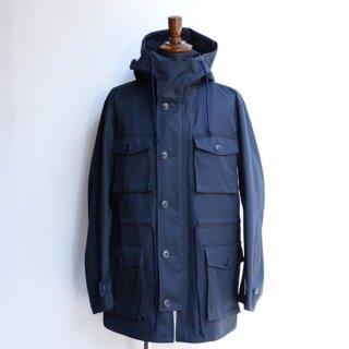 【KAZUKI NAGAYAMA】カズキナガヤマ コットンギャバジンフィールドジャケット ネイビー