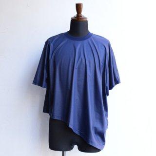 【Nobuyuki Matsui 】 ノブユキマツイ ハーフドルマンTシャツ ネイビー