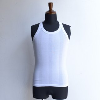 【The Letters】ザ・レターズ STANDERD RIB TANK WHITE