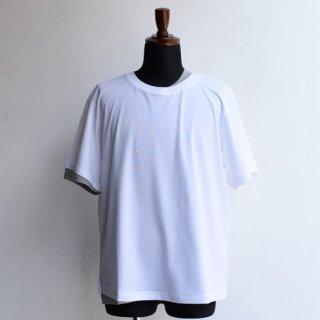【KAZUKI NAGAYAMA】カズキナガヤマ フェイクレイヤードTシャツ ホワイト
