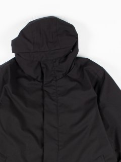 【welter shelter】ウェルター シェルター TERROR WEATHER PARKA NINJA SPINA BLACK