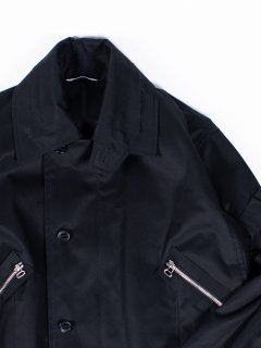 【KAZUKI NAGAYAMA】カズキナガヤマ ミリタリージャケット ブラック