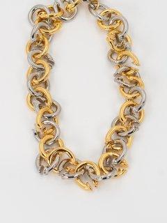 【PORTRAIT REPORT】ポートレートリポート Signature Twist Earcuff Two Color Chain Necklace