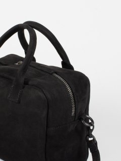 【CORIU】コリュ BOWLING BAG NABUK BLACK ボーリングバッグ