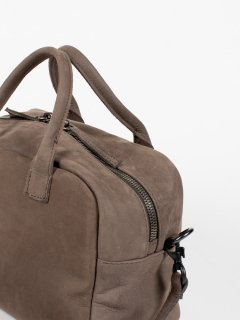 【CORIU】コリュ BOWLING BAG NABUK GRAY ボーリングバッグ