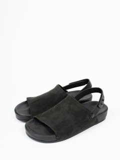 【FEIT】ファイト ONE STRAP SANDAL BLACK
