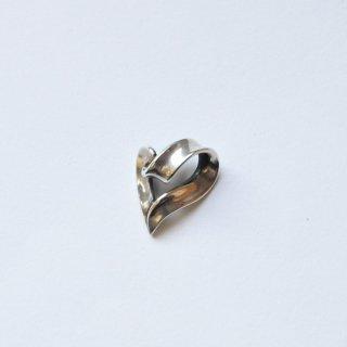 【r.l.d】シルバー ribbon heart top