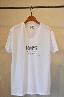 【Tsuyoshi Hirano】平野傑 × DF HOPE Tシャツ