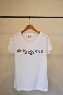 【Tsuyoshi Hirano】平野傑 × DF HOW ARE YOU Tシャツ