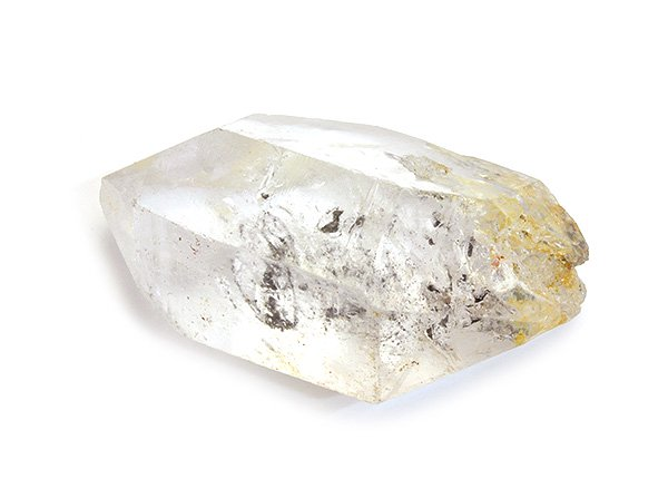 原石<br>ガネッシュヒマールグラファイトインエレスチャルレインボークォーツのポイント(水入り)<br>ネパール・ラパ産