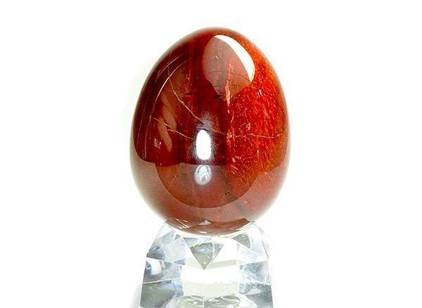 原石<BR>レッドジャスパーのエッグ<br>ブラジル産