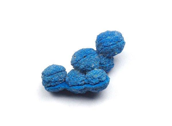 原石<br>アズライトの球状結石(アズライトボール)<br>アメリカ ニューメキシコ州キューバ ナシミエント産